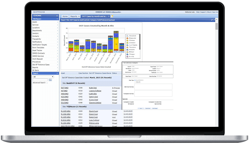 CERDAAC Software OOT Case Management Solution